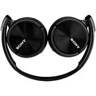 SONY Słuchawki nauszne Headset MDR-ZX310AP czarne (2)