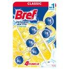BREF WC Power Aktiv Zawieszka myjąco-zapachowa do muszli WC soczysta cytryna (3x50g) (2)