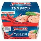 PRINCES Tuńczyk w kawałkach w oleju z chili (1)