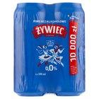 ŻYWIEC Piwo jasne bezalkoholowe (4 x 500 ml) (4)