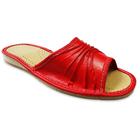 PABLO Kapcie damskie czerwone (1)