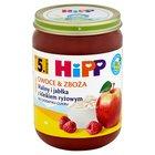 HiPP BIO Owoce & Zboża Maliny i jabłka z kleikiem ryżowym po 5. m-cu (1)