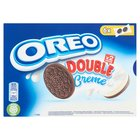 OREO Double Ciastka kakaowe z nadzieniem o smaku waniliowym (12 szt.) (2)